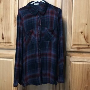 Maurices flannel tunic